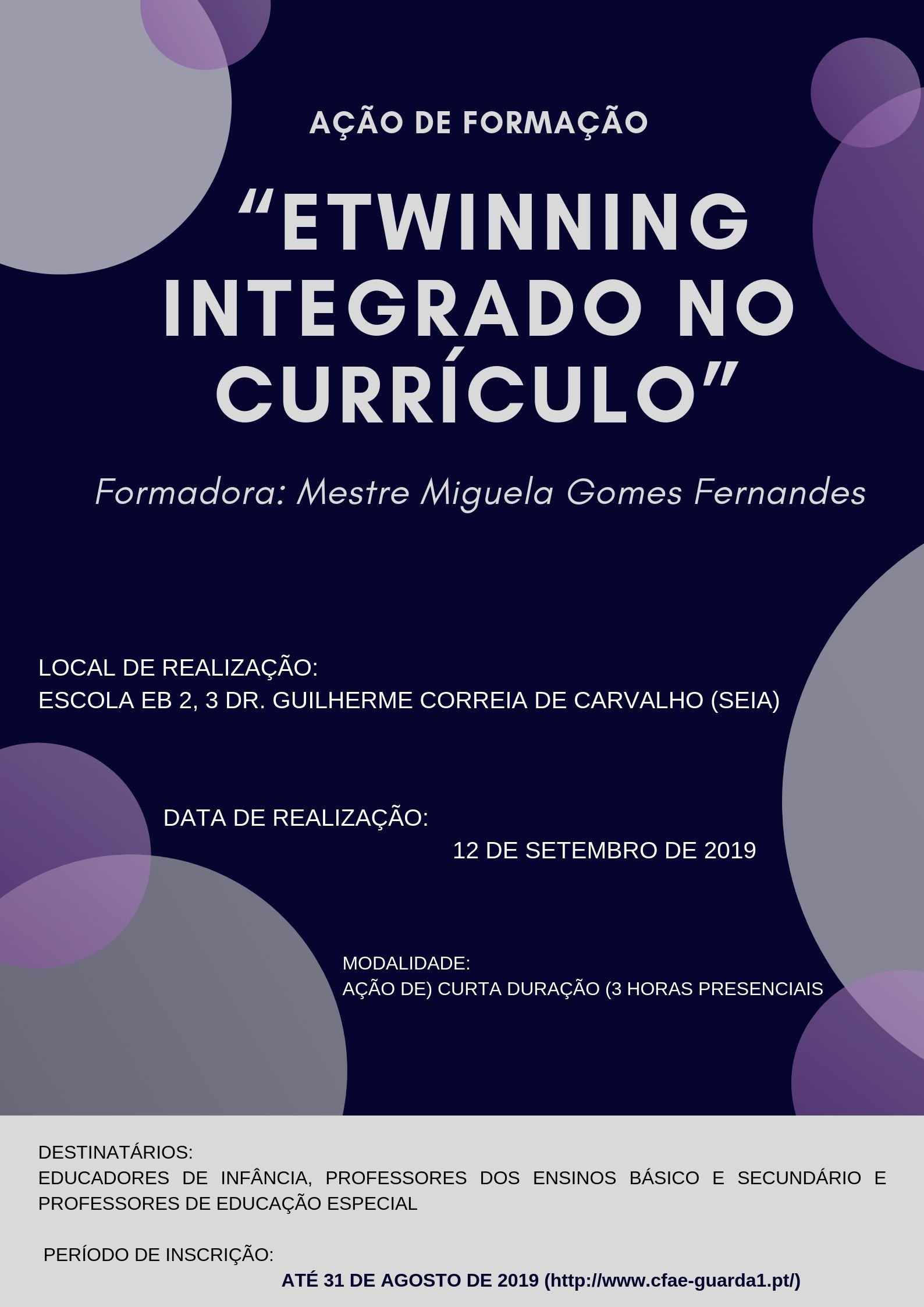 eTwinning integrado no currículo